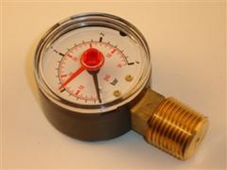 1018069 Worcester 87161423250 Pressure Gauge - 50Mm 4 Bar