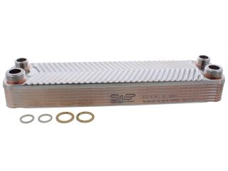 1018597 Worcester 87161429060 Heat Exchanger Swep Type E8/14 87161429060