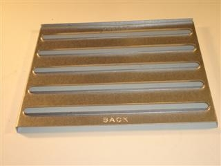 1110098 Baxi 040665 Baffle Heat Exch Comb Box - Obsolete