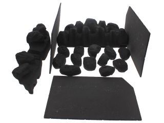 1145276 Valor 5108037 Ceramics Set Coal C1+Walls