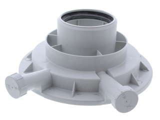 1376628 Vaillant 180932 Flue Adapter 60/100