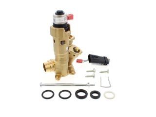 1383607 Vaillant 0020132682 Diverter Valve Brass With Adaptor