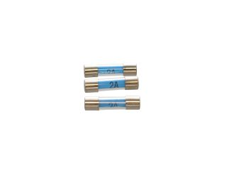 1640829 Hayes 556021 Quick Blow Glass Fuse 20mm 2A (3 Per Pack)