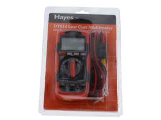1640947 Hayes 99.8722 Dt914 Low Cost Multimeter