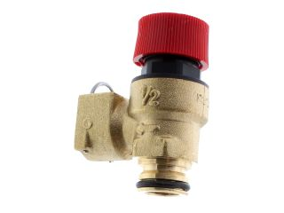 1840659 Ravenheat 0008Val01018/1 Safety Valve 3 Bar - Push Fit To Push Fit Conn