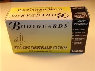 1910250 Arctic Ph102 Latex Gloves Box Of 100 Waterproof And Impervious To Dirt Dust & Gre PH102