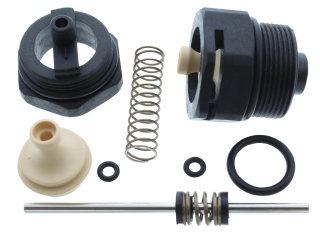 2170762 Heatline 3003202082 Black Nut & Spindle Kit For Diverter Valve
