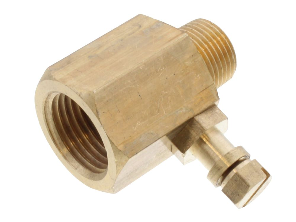 "2290096 Clesse Uubtpa05K 3/8""Male X 1/2"" Female Test Point Adapter"