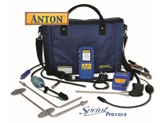 2595078 ANTON SPRINT PRO3 KIT B MULTIFUNCTION FLUE GAS ANALYSER KIT