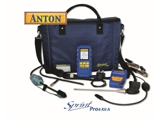 2595094 ANTON SPRINT PRO6 KIT A MULTIFUNCTION FLUE GAS ANALYSER KIT