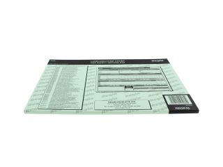 4270432 Regin REGP45 Landlords Gas Safety Record Pad