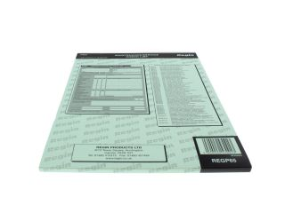 4270448 Regin REGP65 Maintenance Check List Pad