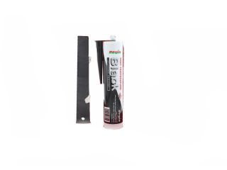 4271050 Regin REGZ37 High Temperature Silicone Sealant Black - 310ml
