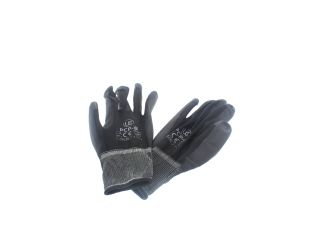 4271408 Regin REGW40 Grey 'Puggy Type' PU Palm Polyester Glove (Pair)