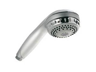 7020124 Aqualisa 215021 Varispray Shower Head - White/Chrome